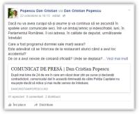 Postare Dan Cristian Popescu 1