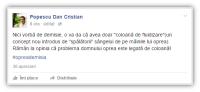 Postare Dan Cristian Popescu 4