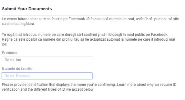 Formular Facebook 1