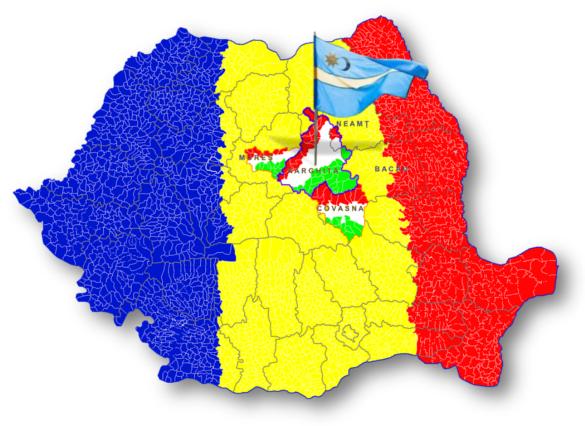 Harghita, Ținutul Secuiesc