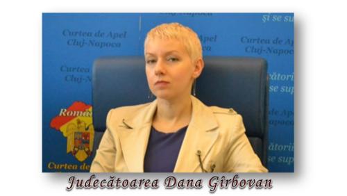 Judecătoarea Dana Gîrbovan