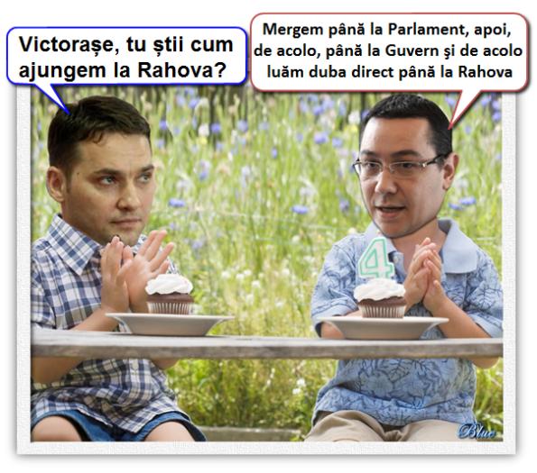 Victor Ponta şi Dan Şova