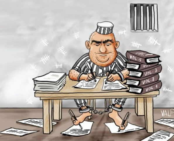 Scriitoriada penalilor