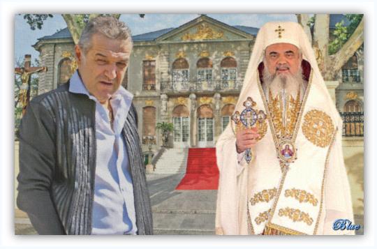 Gigi Becali, Patriarhul Daniel