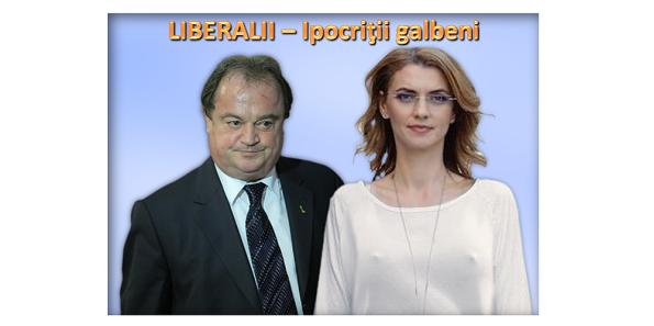 LIBERALII - Ipocriţii galbeni ...