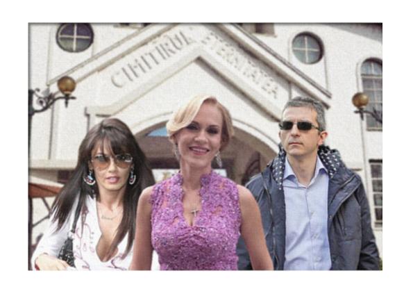 Oana Zăvoranu, Gabriela Firea,  Dan Condrea după semnarea acordului
