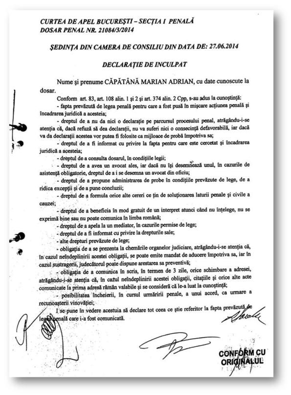 Băsescu - declarație 1