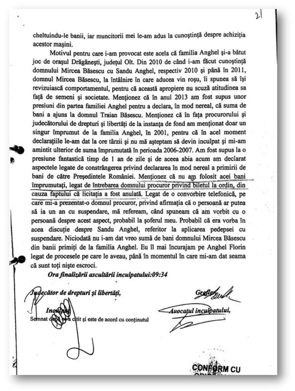 Băsescu - declarație 3