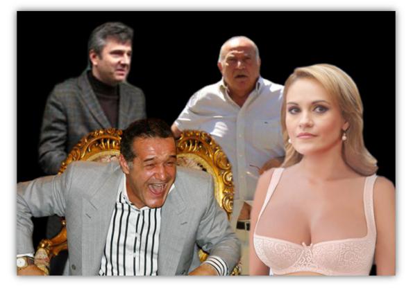 Gabriela Firea, Gigi Becali, Dan Voiculescu, Florentin Pandele