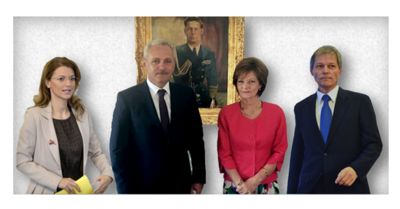 Gorghiu,  Dragnea,  Margareta, Cioloș