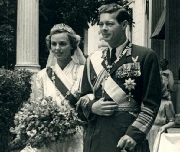 Regele Mihai și soția