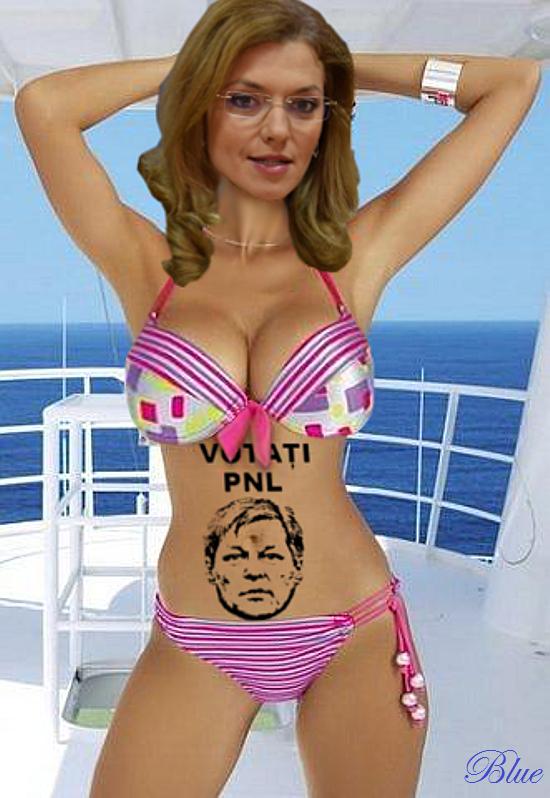 Alina Gorghiu nu are decât un mic tatuaj cu Premierul Cioloș