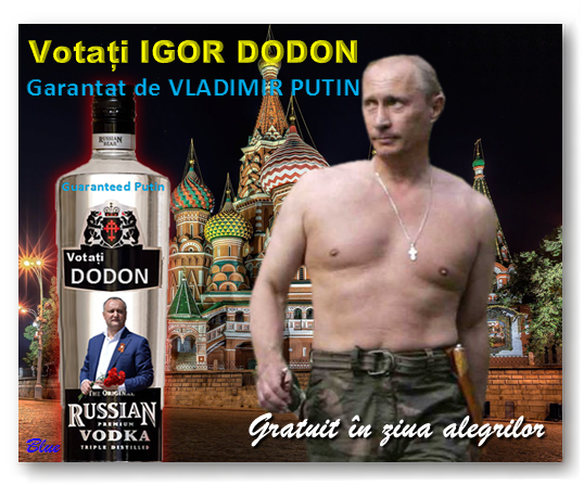 Führerul Putin susține explicit campania lui Igor Dodon