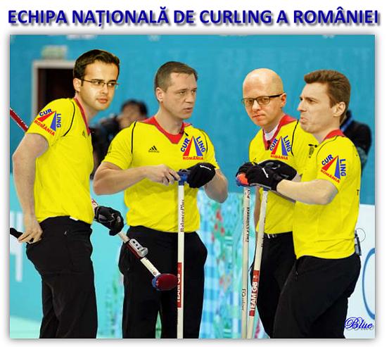 CURLING, Mihai Gadea, Mugur Ciuvica, Adrian Ursu, Mircea Badea