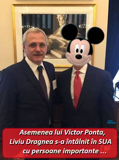 dragnea, mickey-mouse