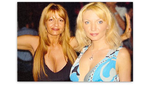 General SRI Eelena Istode și Josette Rizea