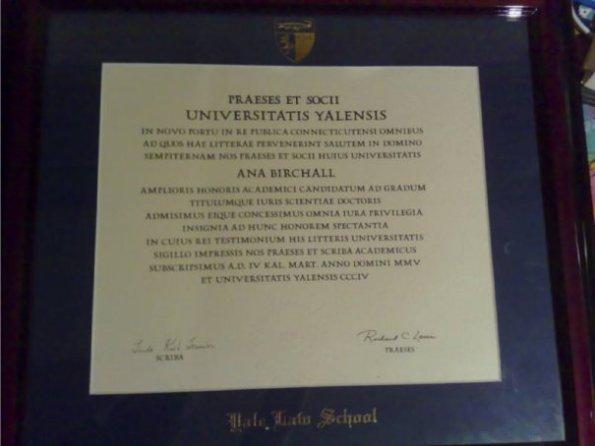 Ana Birchall - diplomă (1)
