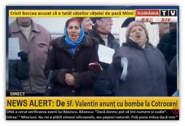 România TV a transmis alarma cu bombă