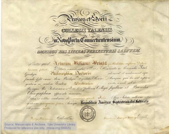Diplomă emisă de Yale Law School (1)
