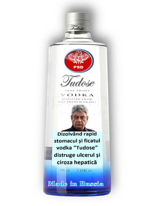 "Vodka ""Tudose"""