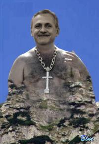 PSD – Dragnea, Monumentul de peCaraiman